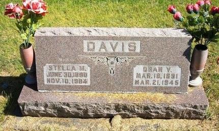 DAVIS, ORAN V - Prowers County, Colorado | ORAN V DAVIS - Colorado Gravestone Photos