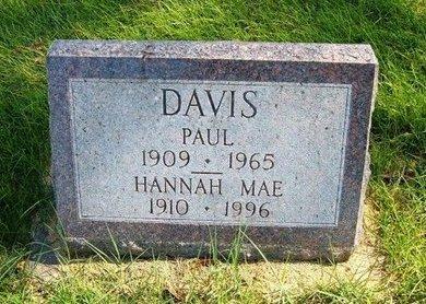 DAVIS, PAUL - Prowers County, Colorado | PAUL DAVIS - Colorado Gravestone Photos