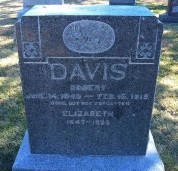 DAVIS, ELIZABETH - Prowers County, Colorado   ELIZABETH DAVIS - Colorado Gravestone Photos