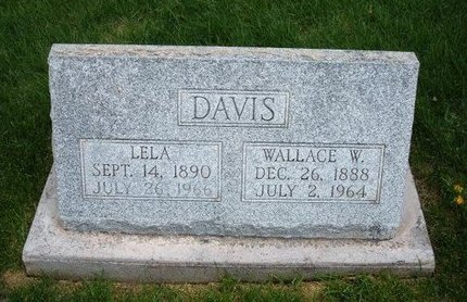 DAVIS, WALLACE W - Prowers County, Colorado | WALLACE W DAVIS - Colorado Gravestone Photos