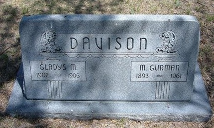 DAVISON, MACK GURMAN - Prowers County, Colorado   MACK GURMAN DAVISON - Colorado Gravestone Photos