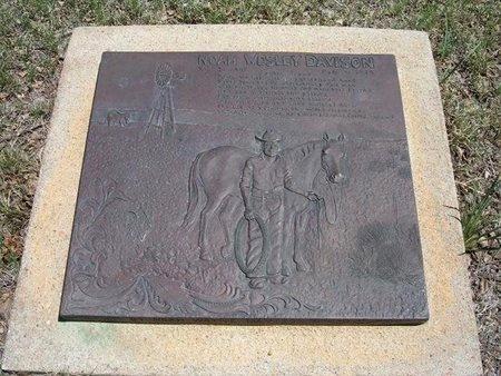 DAVISON, NOAH WESLEY - Prowers County, Colorado | NOAH WESLEY DAVISON - Colorado Gravestone Photos