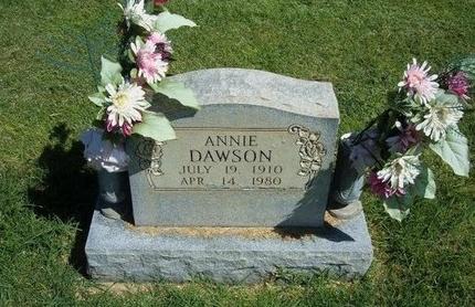 DAWSON, ANNIE - Prowers County, Colorado   ANNIE DAWSON - Colorado Gravestone Photos