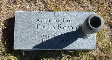 DELAROSA, ANTHONY PAUL - Prowers County, Colorado | ANTHONY PAUL DELAROSA - Colorado Gravestone Photos