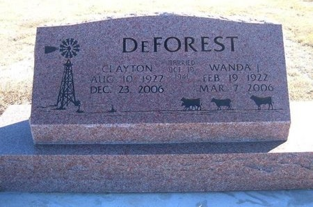 DEFOREST, WANDA - Prowers County, Colorado | WANDA DEFOREST - Colorado Gravestone Photos