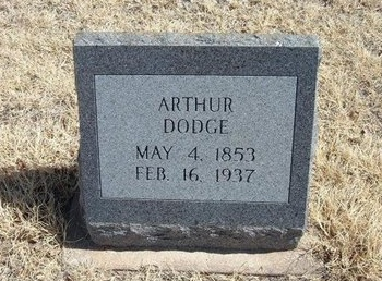 "DODGE, ARTHUR ""PAPPY"" - Prowers County, Colorado 