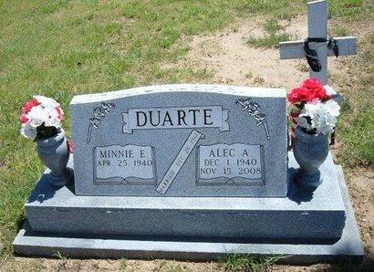 DUARTE, ALEC A - Prowers County, Colorado | ALEC A DUARTE - Colorado Gravestone Photos