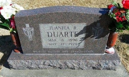 DUARTE, JUANITA E - Prowers County, Colorado | JUANITA E DUARTE - Colorado Gravestone Photos