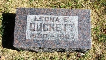 DUNN DUCKETT, LEONA ELLA - Prowers County, Colorado   LEONA ELLA DUNN DUCKETT - Colorado Gravestone Photos