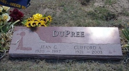 DUPREE, JEAN G - Prowers County, Colorado | JEAN G DUPREE - Colorado Gravestone Photos