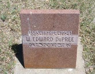 DUPREE, W EDWARD - Prowers County, Colorado | W EDWARD DUPREE - Colorado Gravestone Photos