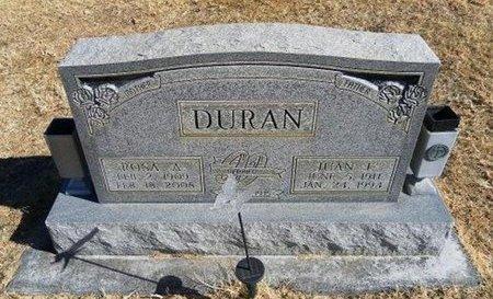 DURAN, ROSA A - Prowers County, Colorado | ROSA A DURAN - Colorado Gravestone Photos