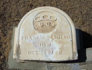 DURHAM, FRANK J - Prowers County, Colorado | FRANK J DURHAM - Colorado Gravestone Photos