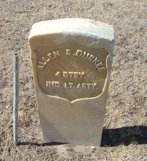 DURKEE (VETERAN UNION), ALLEN S - Prowers County, Colorado | ALLEN S DURKEE (VETERAN UNION) - Colorado Gravestone Photos