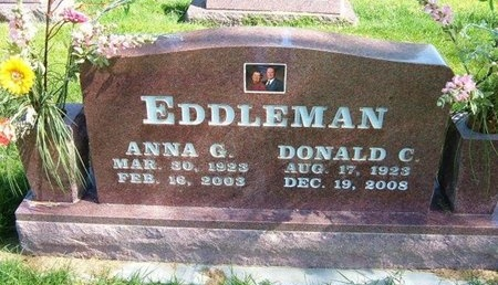 EDDLEMAN, ANNA GERTRUDE - Prowers County, Colorado | ANNA GERTRUDE EDDLEMAN - Colorado Gravestone Photos