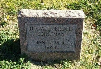 EDDLEMAN, DONALD BRUCE - Prowers County, Colorado | DONALD BRUCE EDDLEMAN - Colorado Gravestone Photos