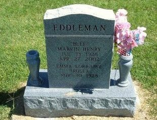 EDDLEMAN, MARVIN HENRY - Prowers County, Colorado | MARVIN HENRY EDDLEMAN - Colorado Gravestone Photos