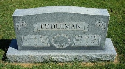 EDDLEMAN, ELFIE M - Prowers County, Colorado | ELFIE M EDDLEMAN - Colorado Gravestone Photos