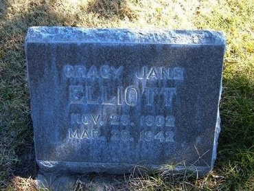 ELLIOTT, GRACY JANE - Prowers County, Colorado | GRACY JANE ELLIOTT - Colorado Gravestone Photos