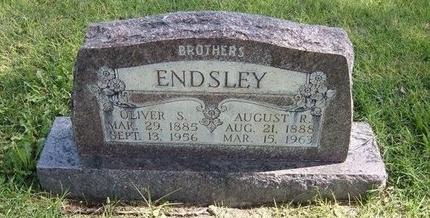 ENDSLEY, AUGUST R - Prowers County, Colorado | AUGUST R ENDSLEY - Colorado Gravestone Photos