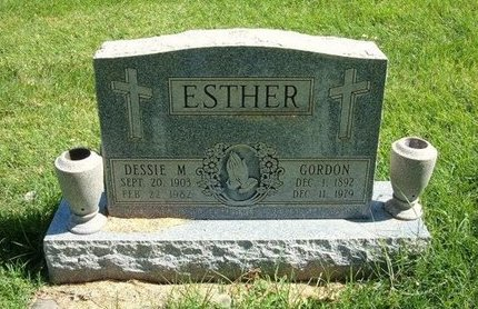 MCGEE ESTHER, DESSIE M - Prowers County, Colorado | DESSIE M MCGEE ESTHER - Colorado Gravestone Photos