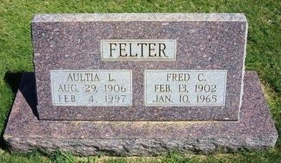 FELTER, FRED C - Prowers County, Colorado | FRED C FELTER - Colorado Gravestone Photos