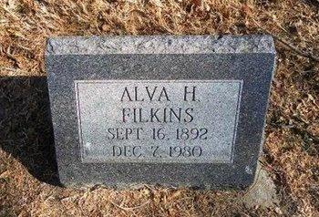 FILKINS, ALVA H - Prowers County, Colorado   ALVA H FILKINS - Colorado Gravestone Photos