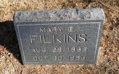 FILKINS, MARY EMMA - Prowers County, Colorado | MARY EMMA FILKINS - Colorado Gravestone Photos