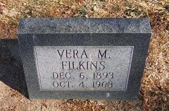 FILKINS, VERA M - Prowers County, Colorado | VERA M FILKINS - Colorado Gravestone Photos