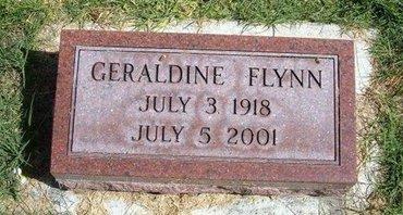 FLYNN, GERALDINE - Prowers County, Colorado | GERALDINE FLYNN - Colorado Gravestone Photos