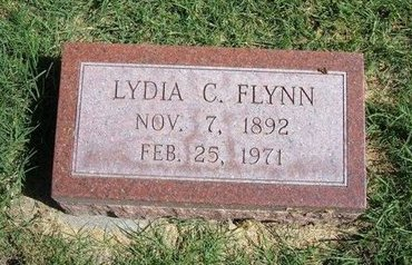 FLYNN, LYDIA C - Prowers County, Colorado | LYDIA C FLYNN - Colorado Gravestone Photos
