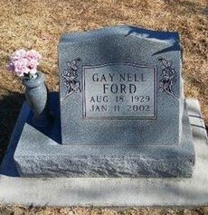 FORD, GAY NELL - Prowers County, Colorado | GAY NELL FORD - Colorado Gravestone Photos