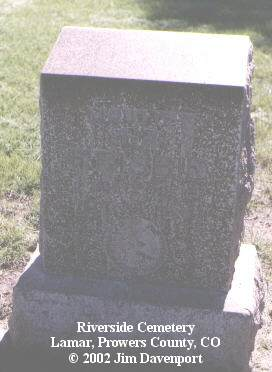 FRISBIE, NORA E. - Prowers County, Colorado | NORA E. FRISBIE - Colorado Gravestone Photos