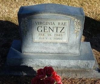 GENTZ, VIRGINIA RAE - Prowers County, Colorado | VIRGINIA RAE GENTZ - Colorado Gravestone Photos