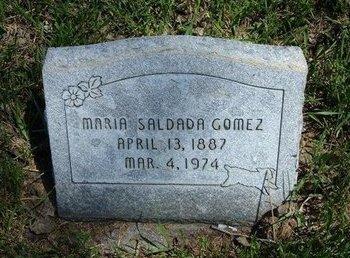 GOMEZ, MARIA SALDADA - Prowers County, Colorado | MARIA SALDADA GOMEZ - Colorado Gravestone Photos