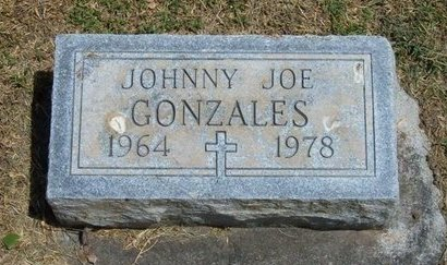 GONZALES, JOHNNY JOE - Prowers County, Colorado | JOHNNY JOE GONZALES - Colorado Gravestone Photos