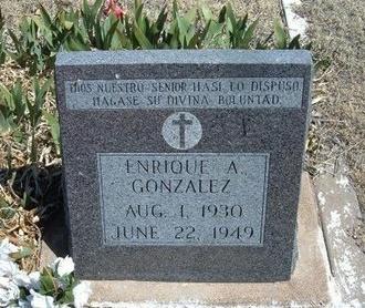 GONZALES, ENRIQUE A - Prowers County, Colorado | ENRIQUE A GONZALES - Colorado Gravestone Photos