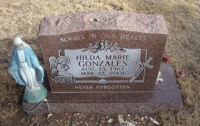 GONZALES, HILDA MARIE - Prowers County, Colorado | HILDA MARIE GONZALES - Colorado Gravestone Photos