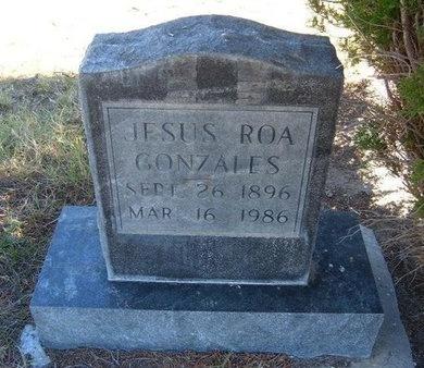 GONZALES, JESUS ROA - Prowers County, Colorado   JESUS ROA GONZALES - Colorado Gravestone Photos