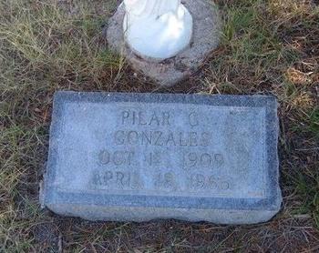 GONZALES, PILAR G - Prowers County, Colorado | PILAR G GONZALES - Colorado Gravestone Photos