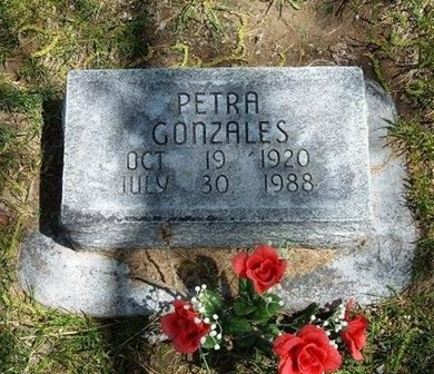 GONZALES, PETRA - Prowers County, Colorado | PETRA GONZALES - Colorado Gravestone Photos