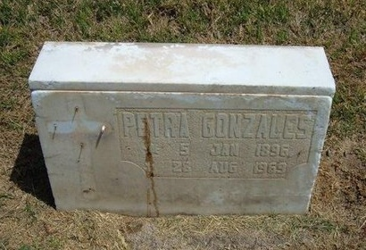 GONZALES, PETRA - Prowers County, Colorado | PETRA GONZALES - Colorado Gravestone Photos
