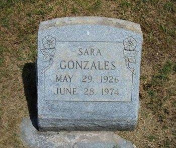 GONZALES, SARA - Prowers County, Colorado | SARA GONZALES - Colorado Gravestone Photos