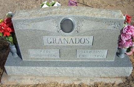 GRANADOS, JOHN - Prowers County, Colorado | JOHN GRANADOS - Colorado Gravestone Photos
