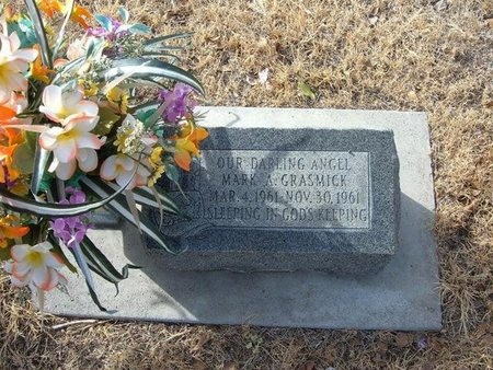 GRASMICK, MARK A - Prowers County, Colorado   MARK A GRASMICK - Colorado Gravestone Photos