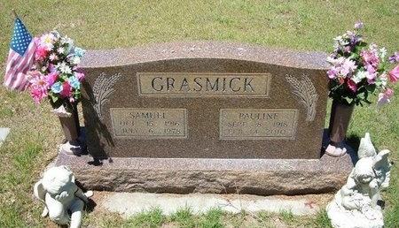 GRASMICK, PAULINE - Prowers County, Colorado   PAULINE GRASMICK - Colorado Gravestone Photos