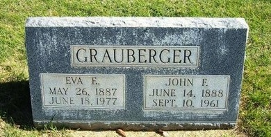 GRAUBERGER, JOHN FREDERIC - Prowers County, Colorado | JOHN FREDERIC GRAUBERGER - Colorado Gravestone Photos