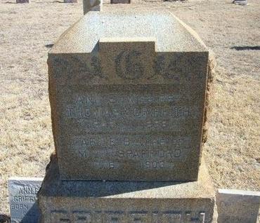 GRIFFITH, ANN E - Prowers County, Colorado | ANN E GRIFFITH - Colorado Gravestone Photos