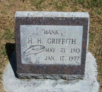 """GRIFFITH, HENRY H """"HANK"""" - Prowers County, Colorado 