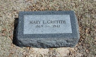 GRIFFITH, MARY L - Prowers County, Colorado   MARY L GRIFFITH - Colorado Gravestone Photos